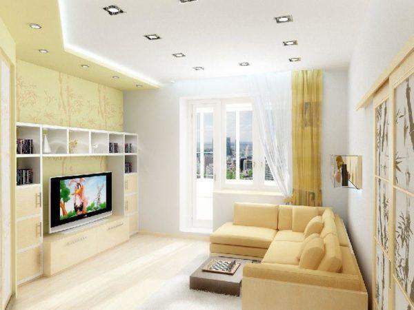 много света позволит увеличить параметры комнаты