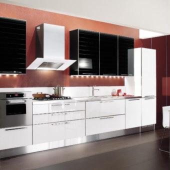 Кухня в стиле конструктивизм — нестандартный дизайна на 55 фото