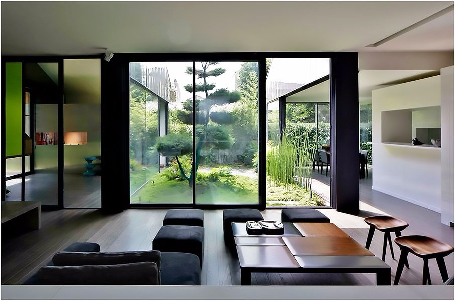 Атмосферный дом в японском стиле