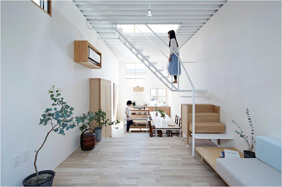 Современный дом в японском стиле
