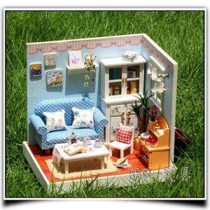 дом для кукол из картона идеи