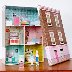 домик для кукол своими руками