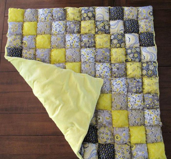 одеяло в стиле бомбон как сшить
