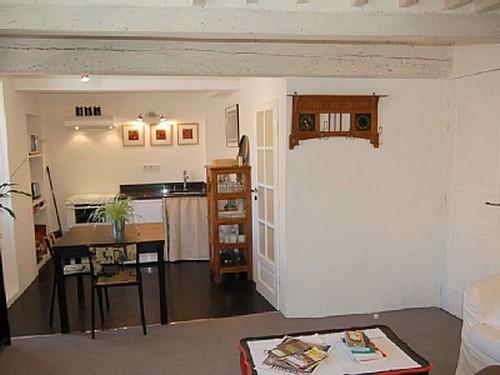 Дизайн квартиры с нишей - кухня в нише