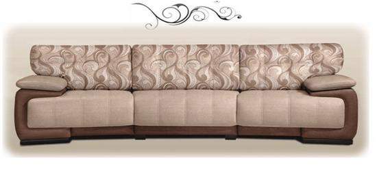Пример дивана Шенилл
