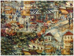 Пример ткани Гобелен