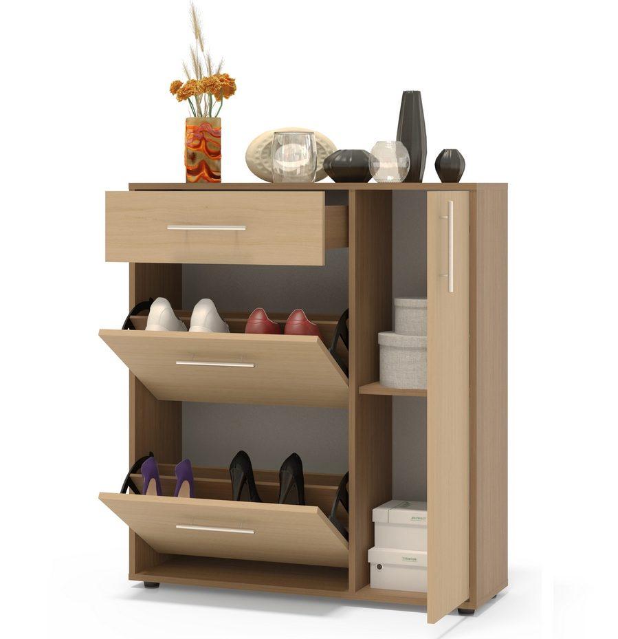 узкая шкаф для обуви в прихожую