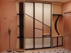 любой дизайн шкафа в прихожей