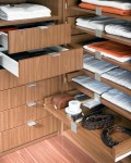 шкафчики и выдвижные полочки