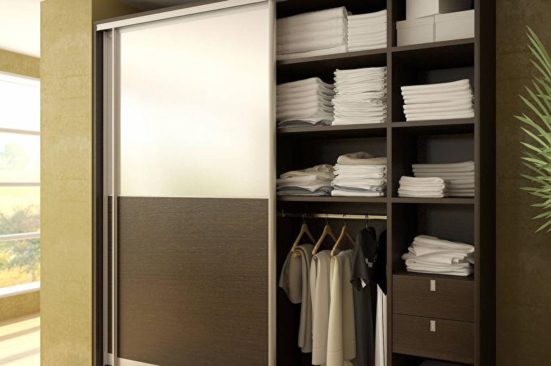 Встроенные и полувстроенные шкафы-купе для прихожей