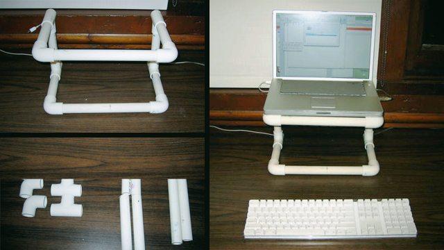 Подставка для ноутбука своими руками - описание, материалы