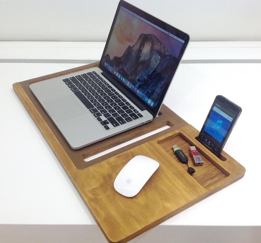 Подставка для ноутбука своими руками - советы по изготовлению, материалы