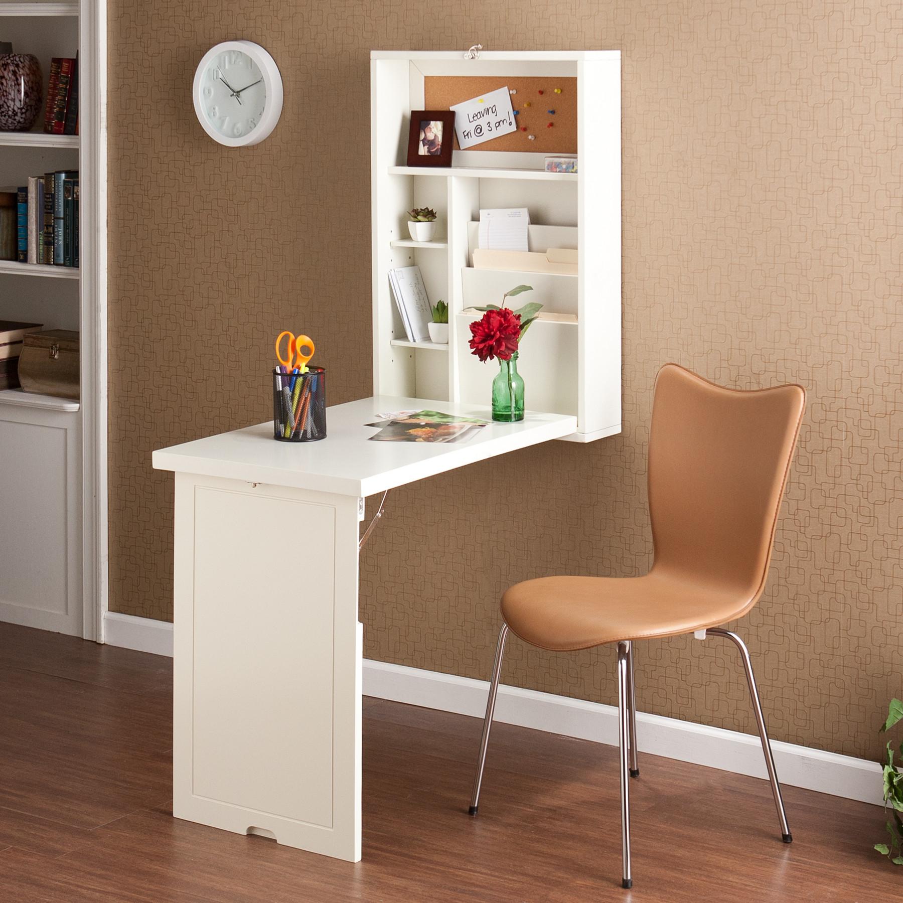 Откидной белый стол
