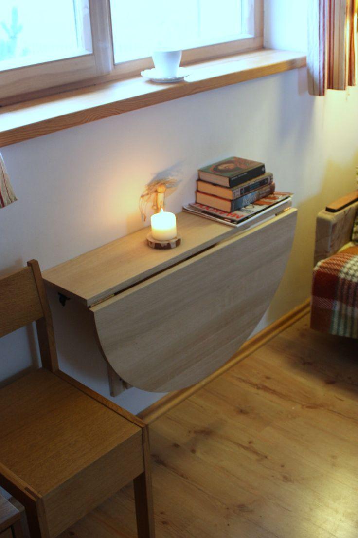 Откидной стол в квартире