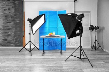 Интерьер студии фото — стоковое фото