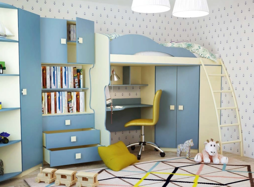 Такие варианты делаются под комнату поэтому идеально вписываются в пространство