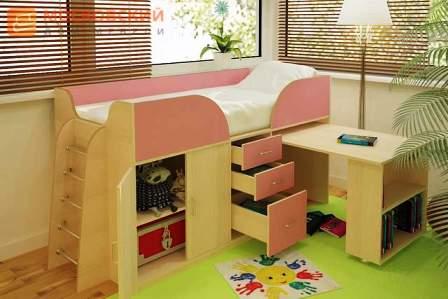 кровать чердак для малышей