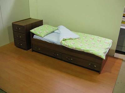 Детская кровать-трансформер может раскладываться на размер 160х60см