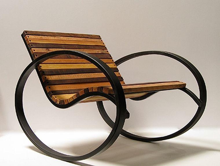 кресло-качалка в классическом стиле