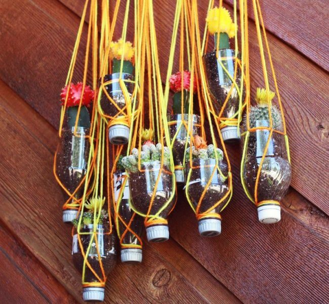Надоело тратить деньги на глиняные горшки, которые постоянно бьются - оригинальные подвесные горшки из пластика станут настоящим спасением для расчетливых хозяев