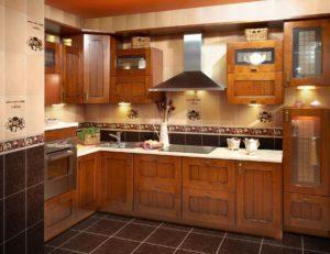 дополнительное освещение пространства на кухне