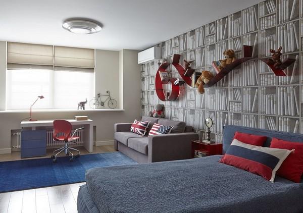 как поставить кровать и диван в одной комнате