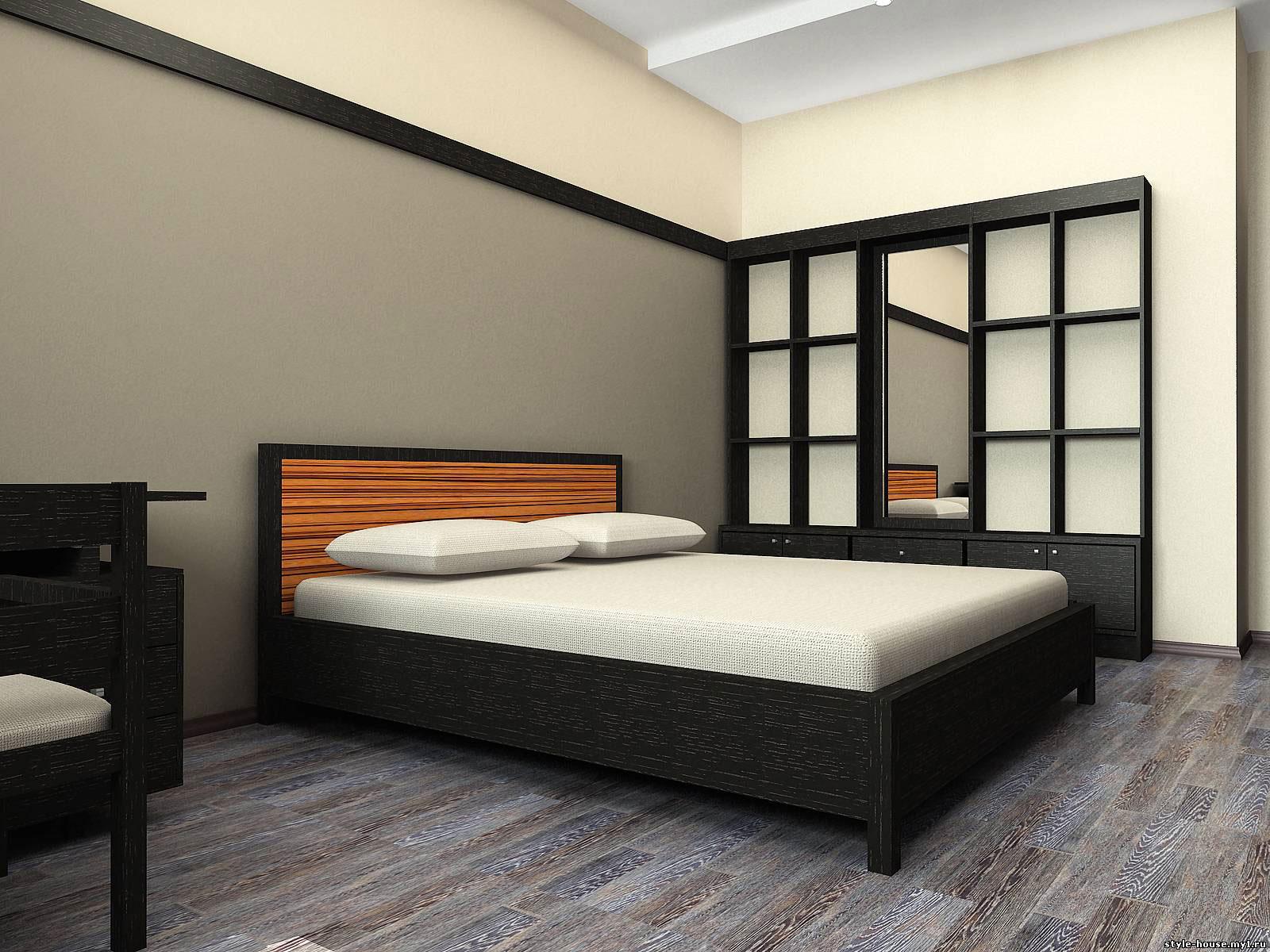 мебель в стиле модерн в интерьере спальни