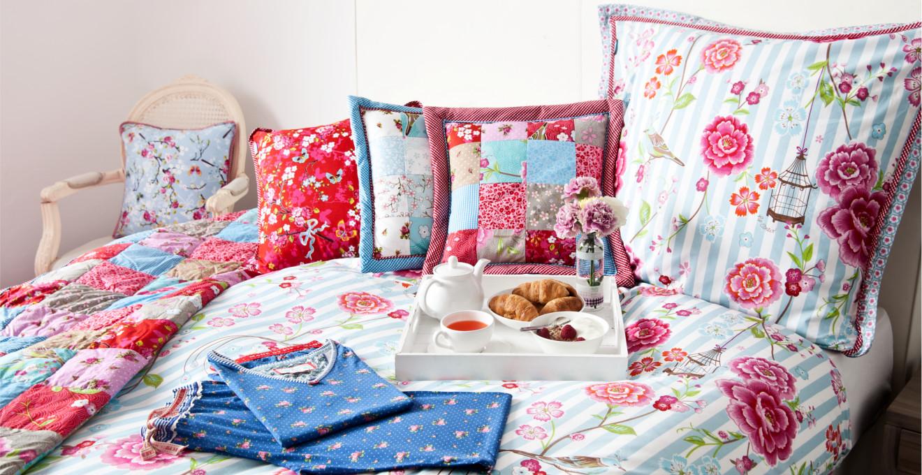 подушки в стиле прованс