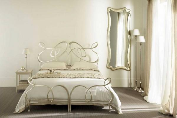 Металлические кровати фото