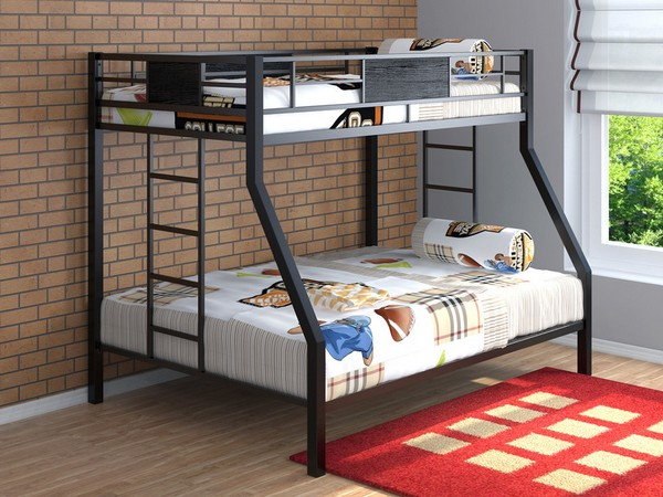 Двухъярусная кровать металлическая детская