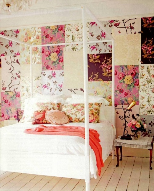 Спальня в стиле пэчворк