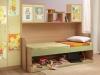 Детская кровать трансформер, какие бывают?
