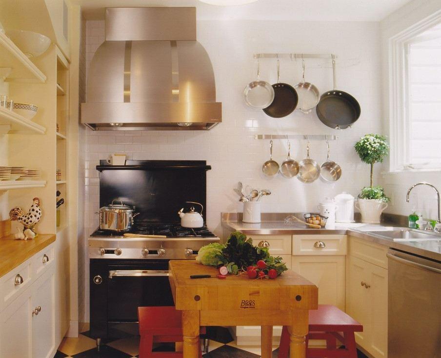 Настенные крепления для хранения сковородок