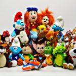 Выбираем мягкого персонажа мультфильма в подарок ребенку