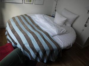 круглое постельное белье