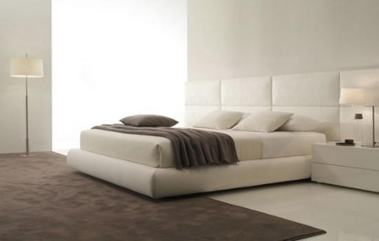 Кожаные кровати в интерьере