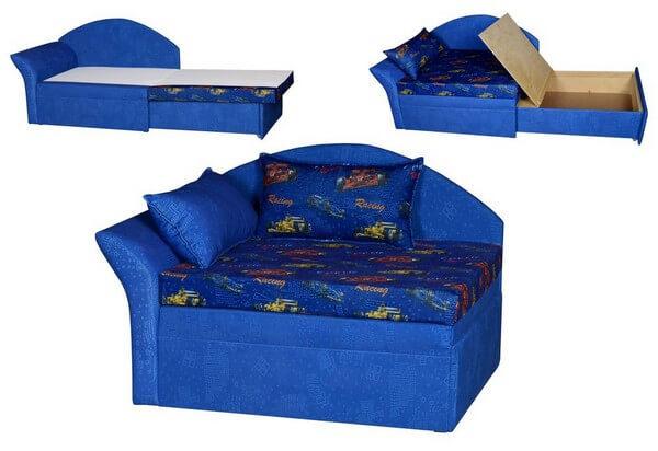 диван для узкой длинной лоджии