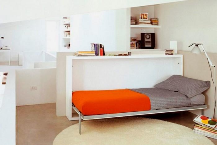Раскладная кровать для спальни с подъемным механизмом
