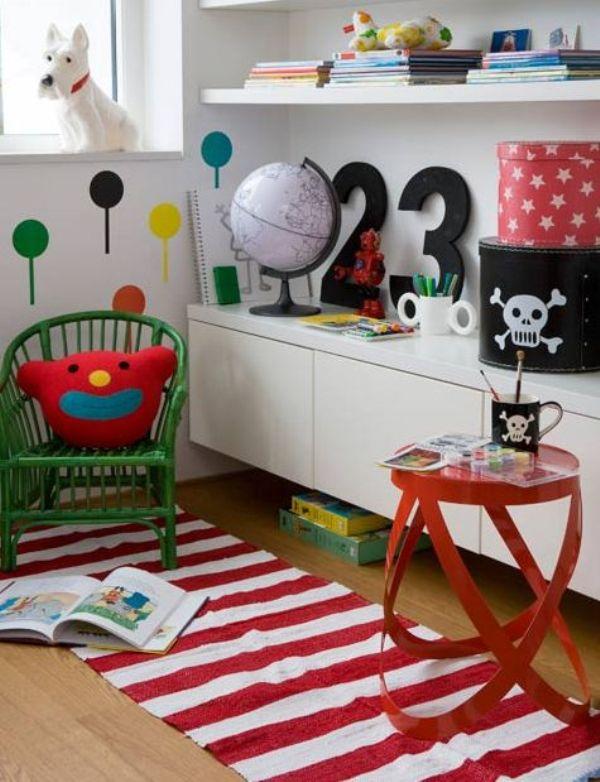 Летний декор детской комнаты фото