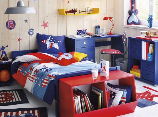 Летний морской дизайн детской комнаты фото