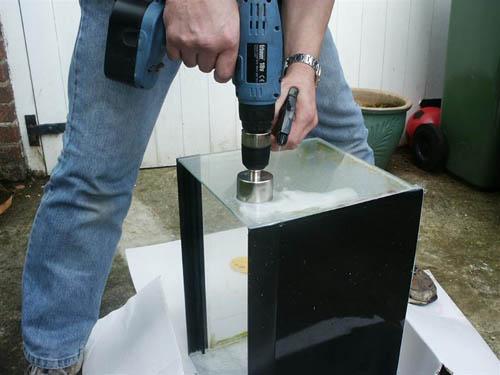 Как просверлить закаленное стекло