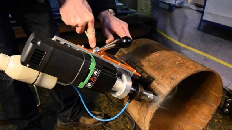 Кондуктор для цилиндрических заготовок или труб