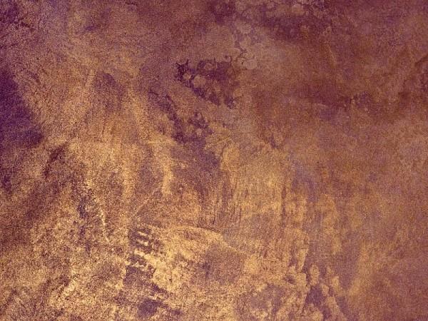 Венецианская штукатурка, покрытая слоем лессирующей краски