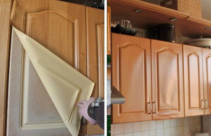 старый кухонный гарнитур