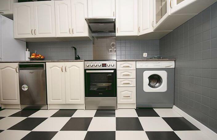 кухня после ремонта