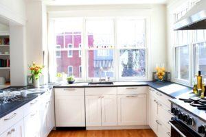 фото интерьера в небольшой кухне