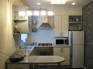решения для маленькой кухни