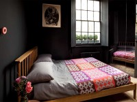 дизайн черной спальни фото