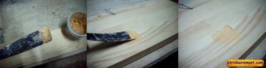 Реставрация кухонного стола