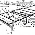 Как самому сделать теннисный стол?